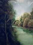 Obras de arte: Europa : España : Madrid : Madrid_ciudad : Rivera del rio Alberche