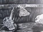 Obras de arte: America : México : Mexico_Distrito-Federal : Magdalena_Contreras : Grita Grita como un cerdo¡¡¡¡¡