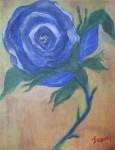 Obras de arte: America : Colombia : Distrito_Capital_de-Bogota : Bogota : rosa azul