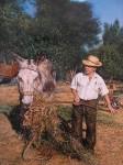 Obras de arte: Europa : España : Andalucía_Sevilla : Alcala_de_guadaira : Joaquin y el burro