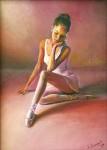 Obras de arte: Europa : España : Galicia_Pontevedra : vigo : pose de bailarina