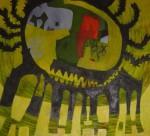 Obras de arte: America : Perú : Lima : chosica : hombre cangrejo