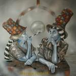 Obras de arte: America : México : Queretaro_de_Arteaga : Queretaro_ciudad : El dialogo de las hermanas Rea