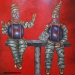 Obras de arte: America : México : Queretaro_de_Arteaga : Queretaro_ciudad : Los cantante de la última opera