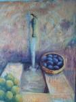 Obras de arte: Europa : España : Andalucía_Granada : huetor-santillan : Pilar cn frutas