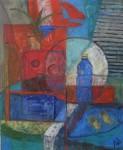 Obras de arte: Europa : España : Madrid : Madrid_ciudad : Azul/Rojo