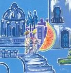 Obras de arte: Europa : Francia : Nord-Pas-de-Calais : LONGUENESSE : Les voleurs de lune