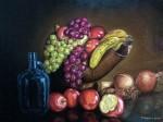 Obras de arte: America : Argentina : Santa_Fe : Rosario : Bodegon con frutas
