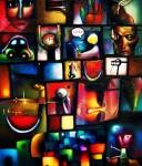 Obras de arte: America : México : Mexico_Distrito-Federal : Xochimilco : conjunto hibrido