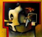 Obras de arte: America : México : Mexico_Distrito-Federal : Xochimilco : metafisica