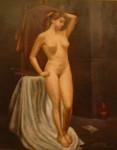 Obras de arte: Europa : Francia : Ile-de-France : PARIS : NU DEBOUT colección privada Francia