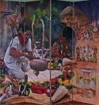 Obras de arte: America : México : Baja_California_Sur : lapaz : Corazón de Colibrí