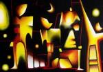 Obras de arte: America : México : Mexico_Distrito-Federal : Xochimilco : Los albores del tiempo