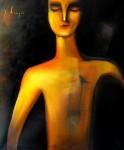 Obras de arte: America : México : Mexico_Distrito-Federal : Xochimilco : hombre