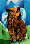 Obras de arte: America : México : Mexico_Distrito-Federal : Tlalpan : Lechuza