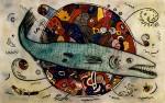 Obras de arte: America : México : Mexico_Distrito-Federal : Tlalpan : Barracuda
