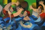 Obras de arte: America : México : Mexico_Distrito-Federal : Tlalpan : Partido de Waterpolo