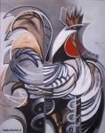 Obras de arte: America : Cuba : Las_Tunas : Tunas_ciudad : Gallo