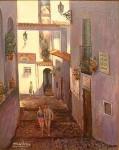 Obras de arte: Europa : Francia : Ile-de-France : PARIS : CALLE DE LOS GATOS BENIDORM (Espagne) colección privada Francia