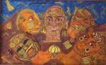 Obras de arte: America : México : Baja_California : Ensenada : ritual del tejuili