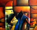Obras de arte: America : México : Mexico_Distrito-Federal : Xochimilco : Ritual