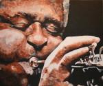 Obras de arte: Europa : España : Catalunya_Barcelona : Barcelona : Dizzy Gillespie