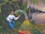 Obras de arte: America : Perú : Amazonas-Peru : Comunidad_de_Puerto_Miguel-_Yarapa : El Espiritu - Manuel Pacaya