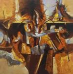 Obras de arte: Europa : España : Catalunya_Girona : Figueres : Calor del mar Negro