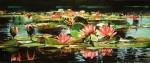 Obras de arte: America : Argentina : Buenos_Aires : Ciudad_de_Buenos_Aires : Nenufares en flor