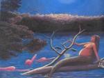 Obras de arte: America : Perú : Amazonas-Peru : Comunidad_de_Puerto_Miguel-_Yarapa : La Sirena- Luis Beltran