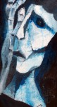 Obras de arte: America : México : Chiapas : Tuxtla : homenaje a guayasamin (mujer)