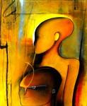 Obras de arte: America : México : Mexico_Distrito-Federal : Xochimilco : Niños en amarillo