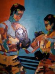 Obras de arte: Europa : España : Madrid : Madrid_ciudad : Boxeo