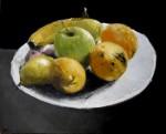 Obras de arte: Europa : España : Madrid : Miraflores_de_la_Sierra : Bodegón de frutas