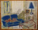 Obras de arte: Europa : España : Andalucía_Sevilla : sevilla : Presencia en sofá