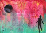 Obras de arte: Europa : España : Galicia_Lugo : Villalba : Salir corriendo