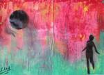 Obras de arte: Europa : España : Galicia_Lugo : Villalba : Salir huyendo