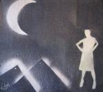 Obras de arte: Europa : España : Galicia_Lugo : Villalba : Aquí estoy yo plantada