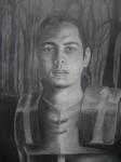 Obras de arte: America : Colombia : Antioquia : Medellin_ciudad : AUTO RETRATO CON ARMADUARA