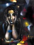 Obras de arte: America : México : Mexico_Distrito-Federal : Xochimilco : Tristeza