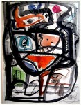 Obras de arte: America : Chile : Region_Metropolitana-Santiago : providencia : Composición XV