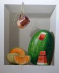Obras de arte: America : M�xico : Mexico_Distrito-Federal : villa_obregon : melon o sandia