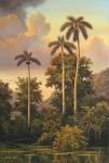 Obras de arte: America : Cuba : Ciudad_de_La_Habana : miramar_playa : Añoranza de palmeras
