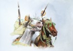 Obras de arte: Europa : España : Andalucía_Sevilla : Dos_Hermanas : fiesta de la polvora