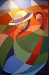 Obras de arte: America : Argentina : Buenos_Aires : Capital_Federal : COYA Y CHANGUITO