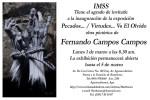 Obras de arte: America : México : Jalisco : Guadalajara : Invitaciòn