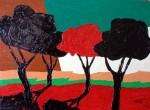 Obras de arte: Europa : España : Andalucía_Sevilla : paso_2 : Cuatro árboles