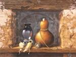 Obras de arte: America : México : Michoacan_de_Ocampo : Morelia : BODEGON CON MAZORCAS