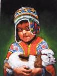 Obras de arte: America : Perú : Cusco : cusco_ciudad : niño andino1
