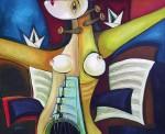Obras de arte: America : Cuba : Ciudad_de_La_Habana : miramar_playa : Perfecta dramaturgia del silencio
